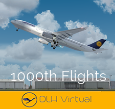 1000 Flights - given for completing 1000 Flights for DLHv
