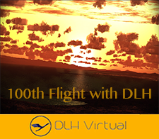 100 Flights - given for completing 100 Flights for DLHv