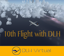 10th Flight - given for completing 10 Flights for DLHv