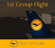 1st Group Flight - given for participate a Group Flight within DLHv