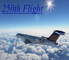250th Flight - given for completing 250 Flights for DLHv
