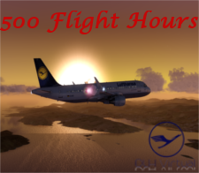 500 Flight Hours - given for completing 500 Flight Hours for DLHv