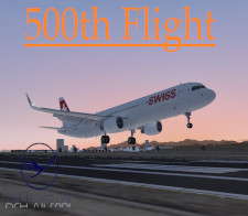 500th Flight - given for completing 500 Flights for DLHv