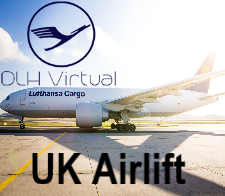 UK Airlift Challenge - given for completing the UK Airlift Challenge