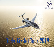 Biz Jet Tour 2019 - given for completing the Biz Jet Tour 2019