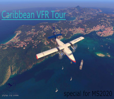 VFR Caribbean Tour 2020 - given for completing the VFR Caribbean Tour 2020