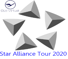 Star Alliance Tour 2020 - given for completing the Star Alliance Tour 2020