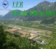 VFR Alps to Italy -