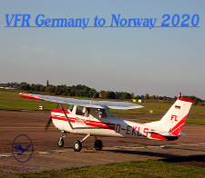 VFR Germany to Norway Tour 2020 - given for completing the VFR Germany to Norway Tour 2020