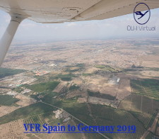 VFR Spain to Germany 2019 Tour - given for completing the VFR Spain to Germany 2019 Tour