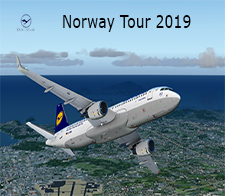 Norway Tour 2019 - given for completing the Norway Tour  2019