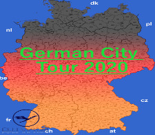 German City Tour 2020 - given for completing the German City Tour 2020