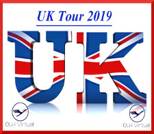 UK Tour 2019 - given for completing the UK Tour 2019