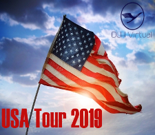 USA Tour 2019 - given for completing the USA Tour 2019