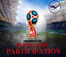 WM 2018 Participation - given for participate on the WM 2018 Challence