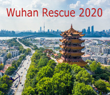 Wuhan rescue 2020 - given for completing a Flight from the Wuhan rescue 2020