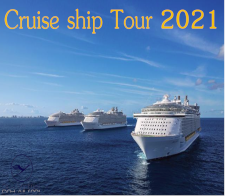Cruise ship Tour 2021 - given for completing the Cruise ship Tour 2021