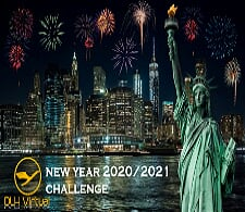 New Years Challenge 20/21 - given for completing the New Years Challenge 20/21