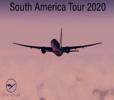South America Tour 2020 - given for completing the South America Tour 2020