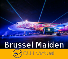 Brussel Maiden Flight Awa -