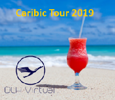 Caribic Tour 2019 - given for completing the Caribic Tour 2019